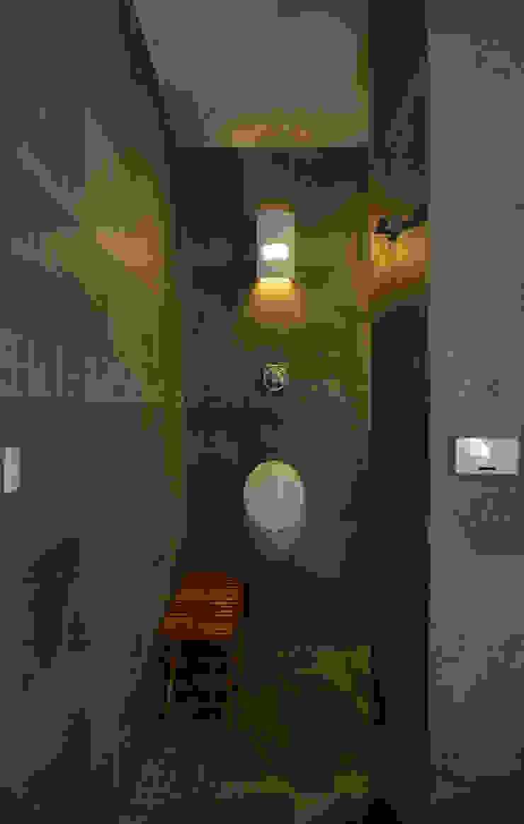 Baños modernos de 築青室內裝修有限公司 Moderno