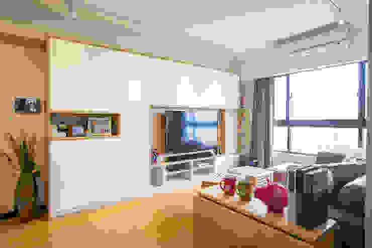 電視櫃設計 根據 傢棻設計 北歐風