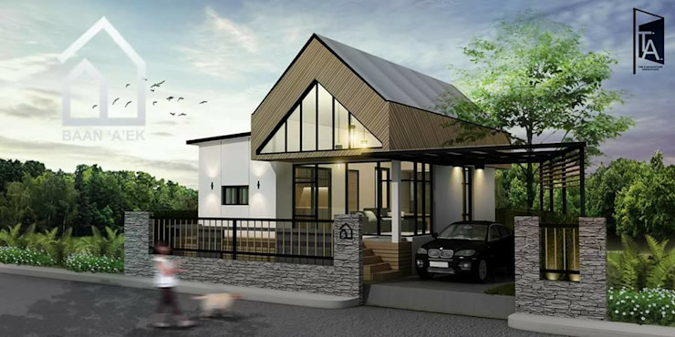 Architectural and Interior design - Baan 'A'ek โดย Time & Architecture design studio - T.A.