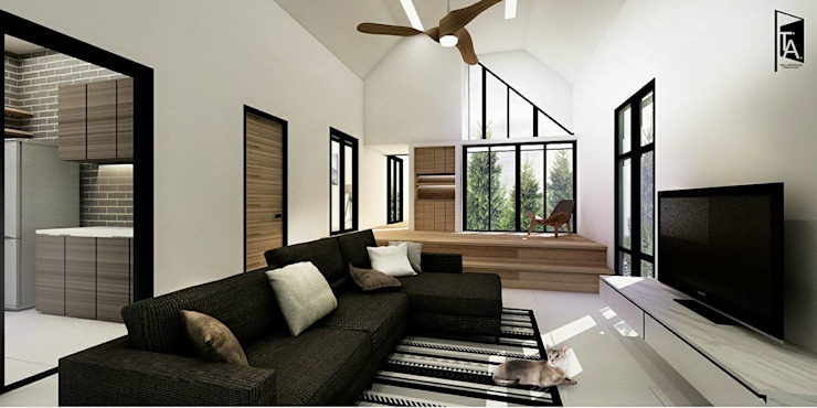 Architectural and Interior design – Baan 'A'ek โดย Time & Architecture design studio - T.A.