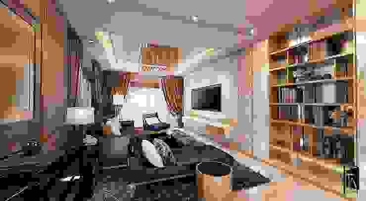 Interior design – Khun Max Residence โดย Time & Architecture design studio - T.A.