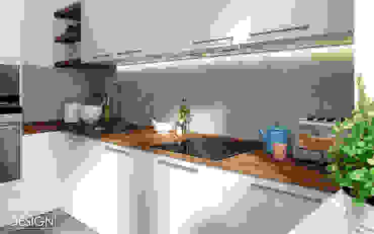 One Line Design Cocinas de estilo escandinavo
