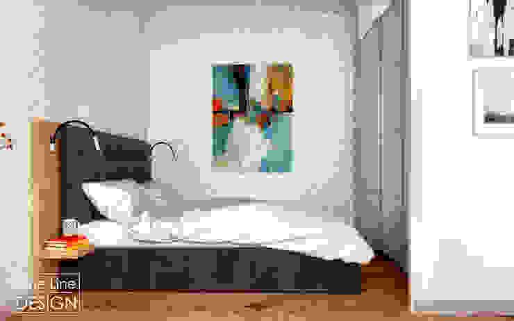One Line Design Dormitorios de estilo escandinavo