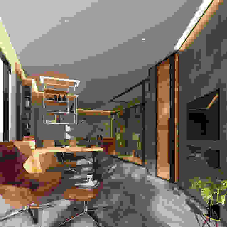 Interior design – Sindhvananda Residence: ทันสมัย  โดย Time & Architecture design studio - T.A., โมเดิร์น