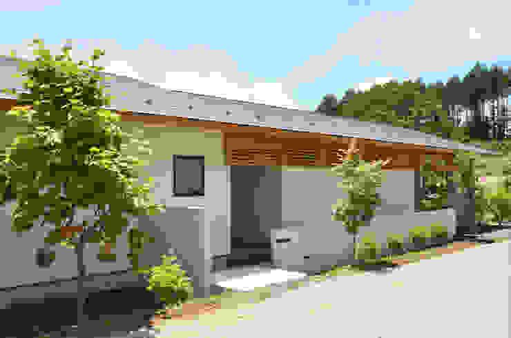 高峰の家 鎌田建築設計室 モダンな 家