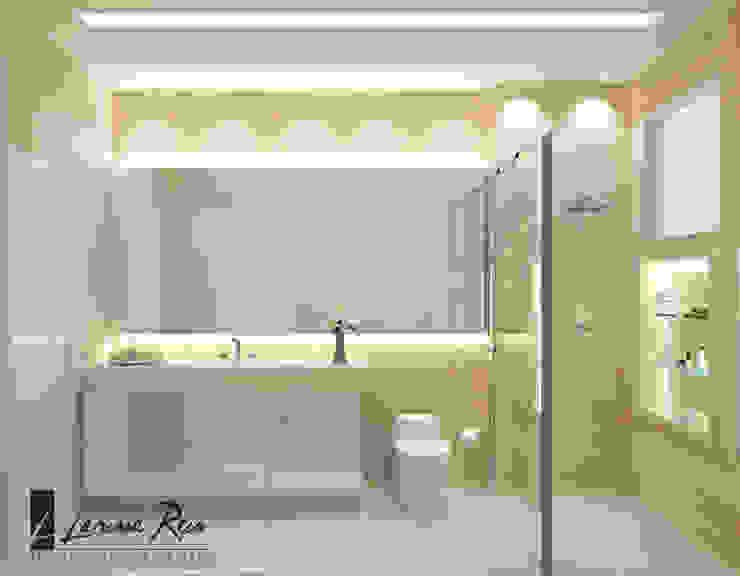 浴室 by LARISSA REIS ARQUITETURA, 現代風