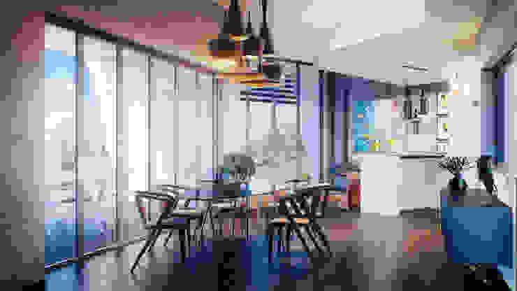 Salon moderne par CORE Architects Moderne
