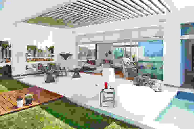 現代房屋設計點子、靈感 & 圖片 根據 Karím Chaman Arquitectos 現代風