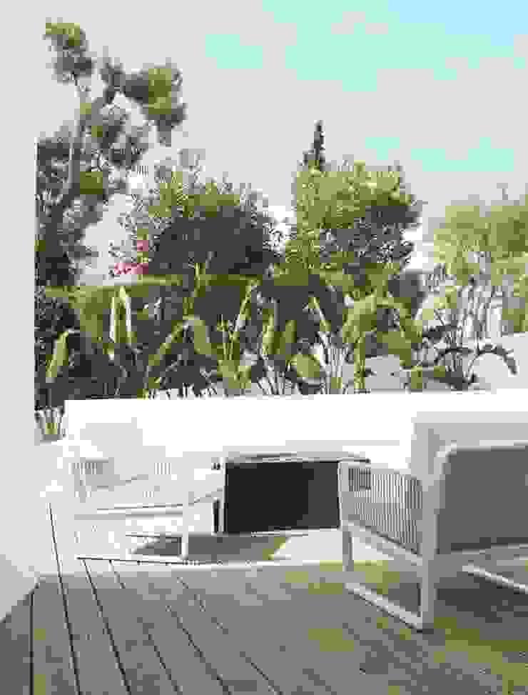 Casa Xyza! Ecossistemas Terrace house Ceramic Green