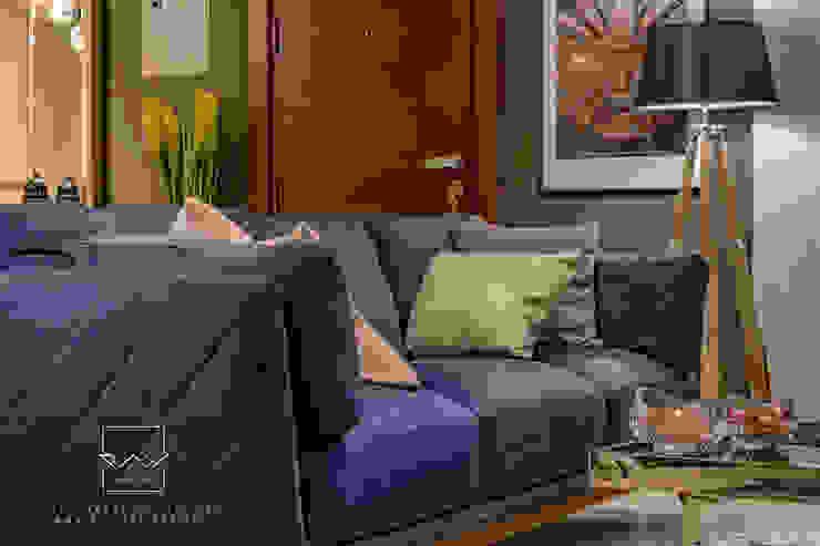 SOFA fabrics Close up RayDesigns Modern living room