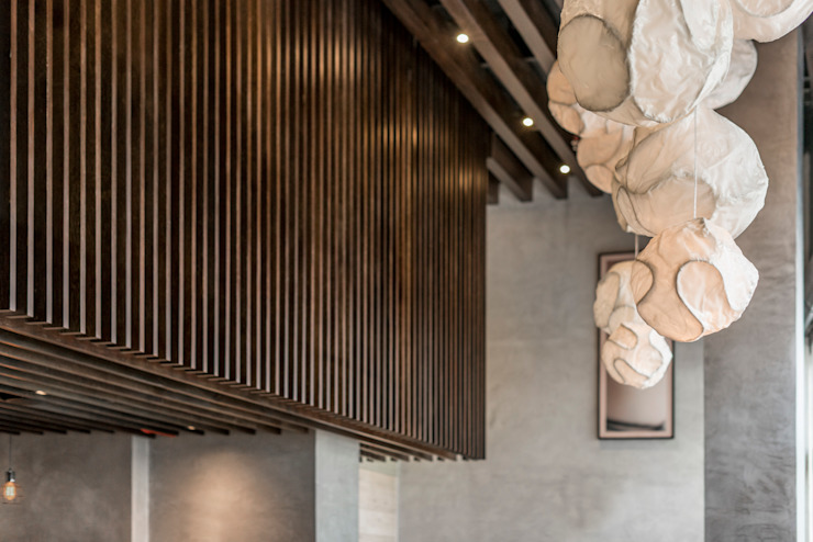 by PALACIO ARQUITECTOS Asian Wood Wood effect