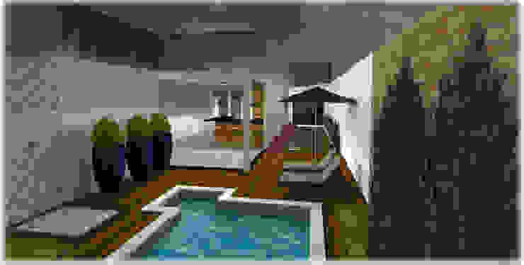 Garden Pool by Roberta Branquinho- Arquitetura & Interiores, Modern