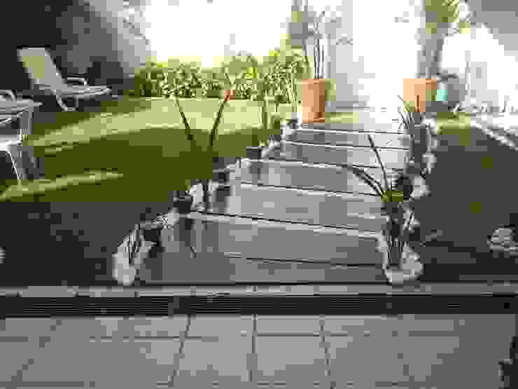 STUDIO ROCHA ARQUITETURA E DESIGN DE INTERIORES Jardines modernos