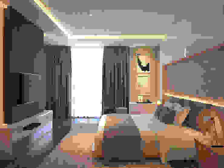 Grawisa Residence Oleh lucid interior Minimalis