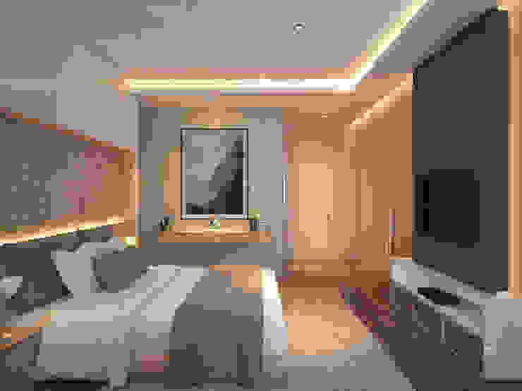 Grawisa Residence Kamar Tidur Minimalis Oleh lucid interior Minimalis