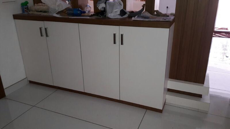 storage at dining area by shabin