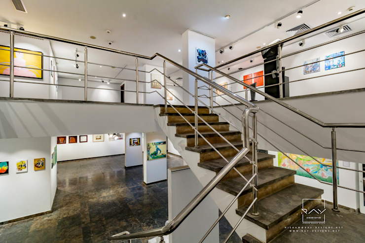DAI ART GALLERY interior design by RayDesigns Minimalist