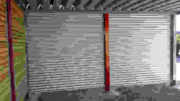 Carport-Schmiede GmbH & Co. KG - Hersteller für Metallcarports und Stahlcarports auf Maß โรงจอดรถ เหล็ก Grey