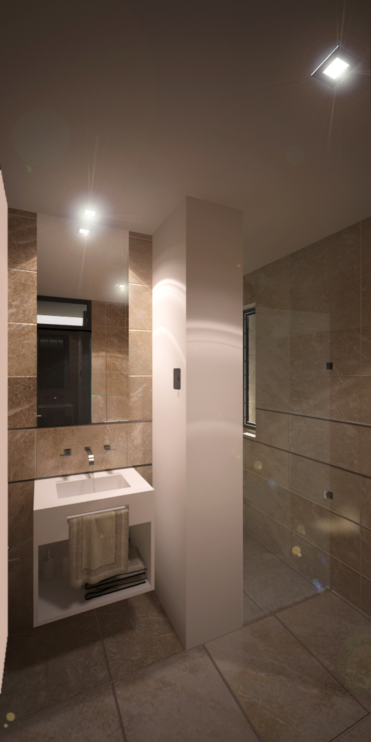 Salle de bain moderne par D'ODORICO ARQUITECTURA Moderne