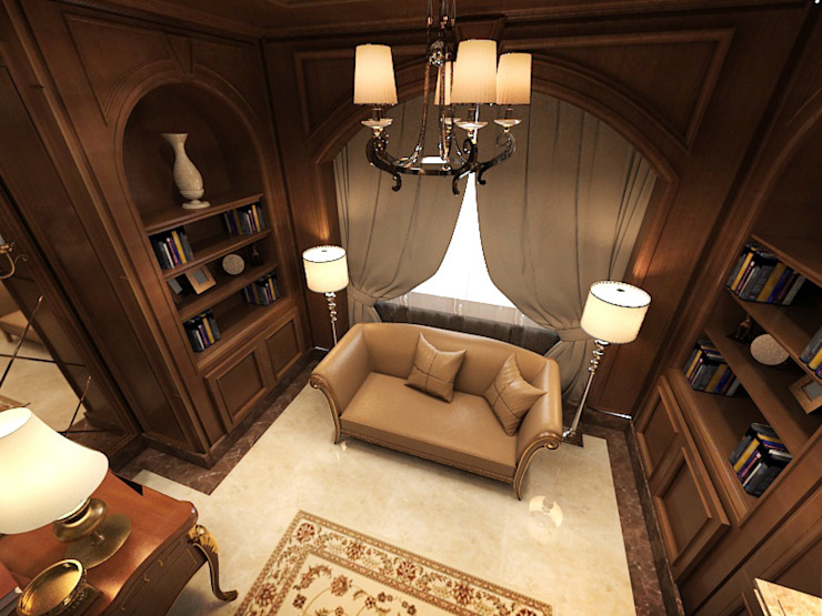 Residential Villa _ New Cairo من Axis Architects for architecture and interior design كلاسيكي