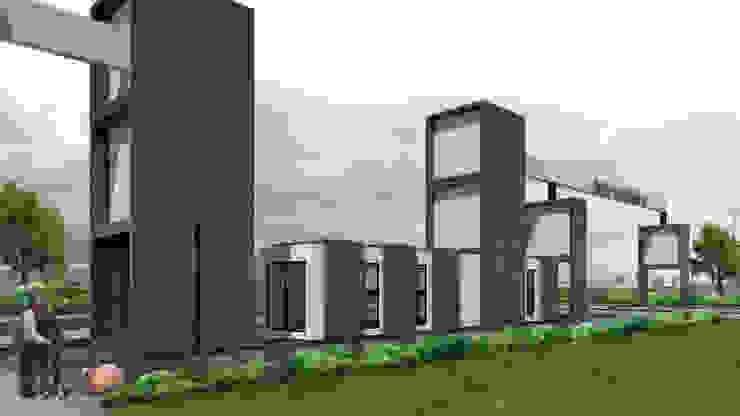 Anteproyecto Portico Barrio San blanca de NEF Arq. Moderno