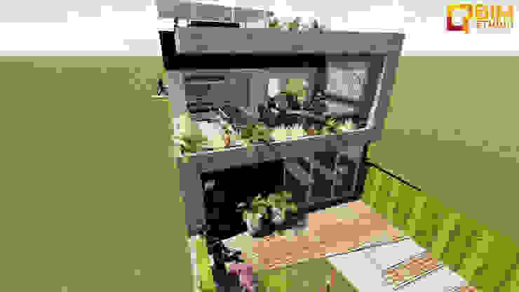 Casas minimalistas por BIM STUDIO ARQUITECTOS SAC Minimalista