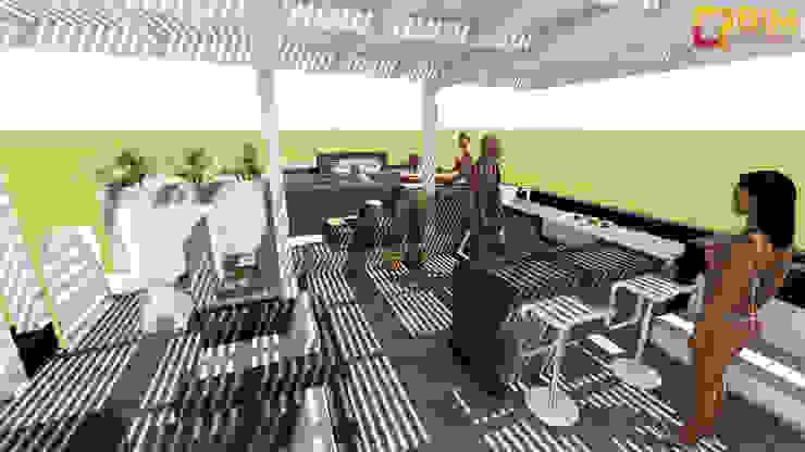 Casas de estilo minimalista de BIM STUDIO ARQUITECTOS SAC Minimalista