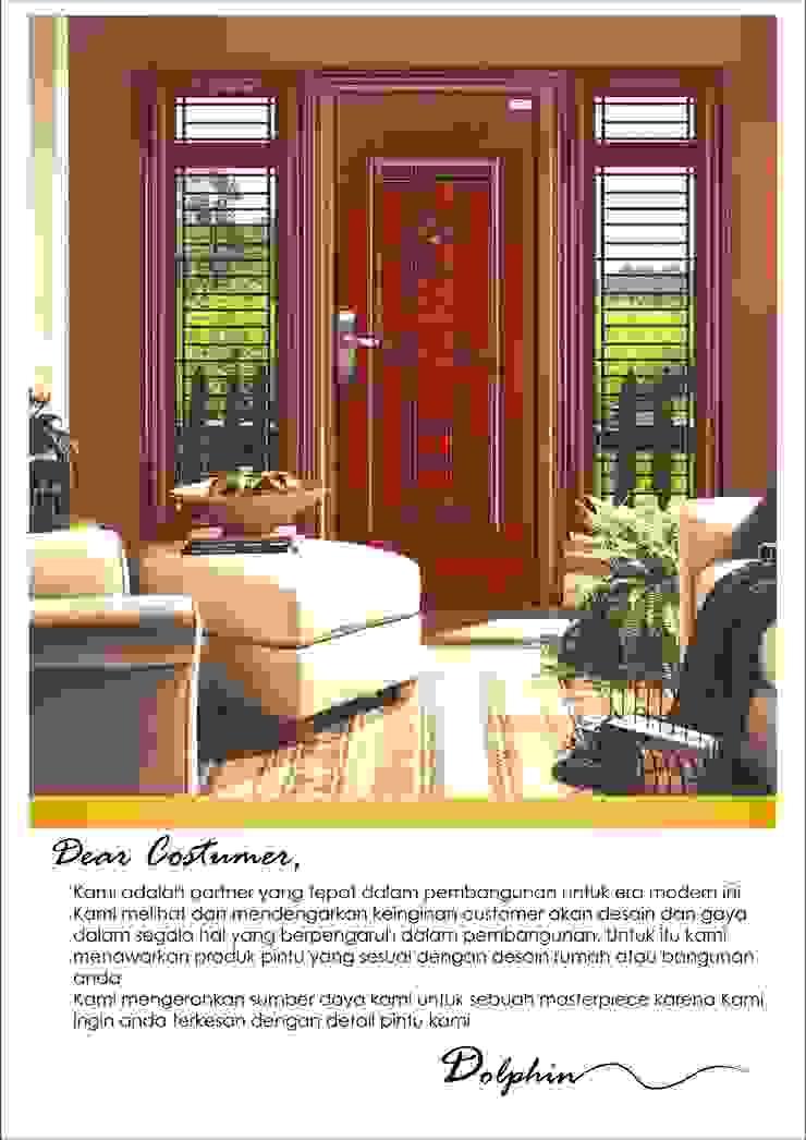 pintu gendong baja platinum Oleh PT. Golden Prima Sentosa Modern Besi/Baja