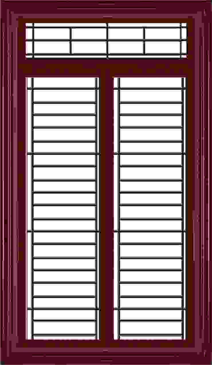 jendela baja platinum Pintu & Jendela Modern Oleh PT. Golden Prima Sentosa Modern Besi/Baja