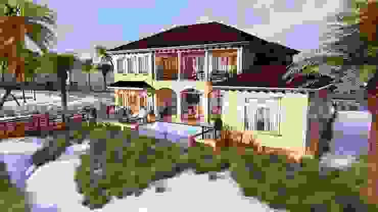 classic  by Yantram Architectural Design Studio, Classic Concrete