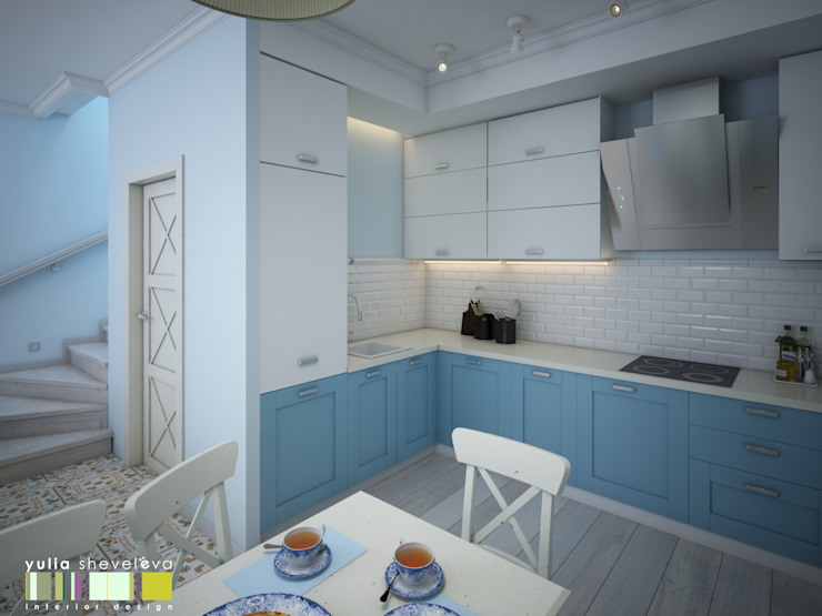 Classic style kitchen by Мастерская интерьера Юлии Шевелевой Classic