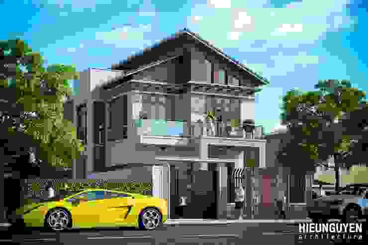 Thiết kế nhà đẹp tại Nam Định bởi CÔNG TY TNHH TƯ VẤN THIẾT KẾ KIẾN TRÚC & NỘI THẤT SMALLHOME