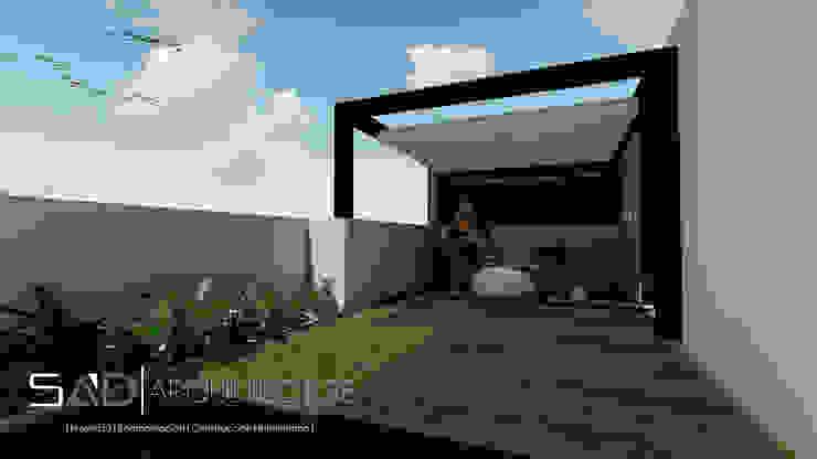 Roof Garden homify Balcones y terrazas modernos