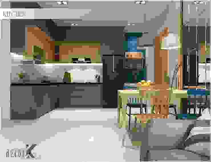 Dining Room Phòng ăn phong cách châu Á bởi Công ty TNHH TMDV Decor KT Châu Á