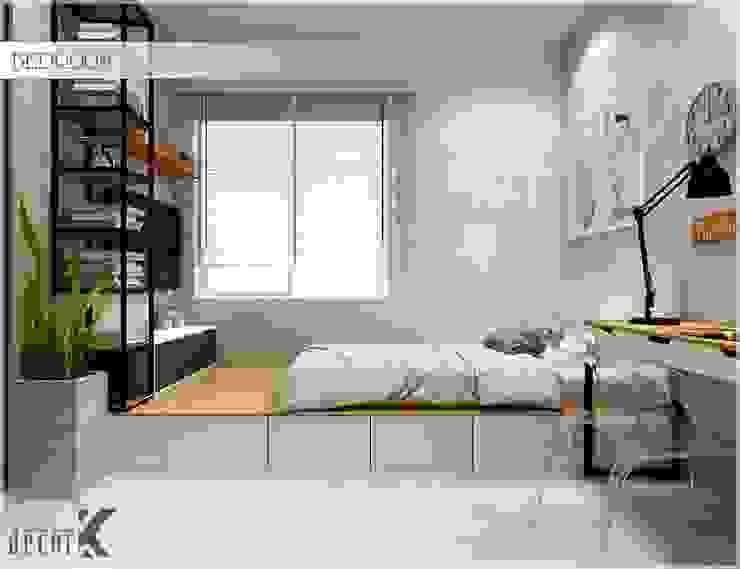 غرفة نوم تنفيذ Công ty TNHH TMDV Decor KT, أسيوي