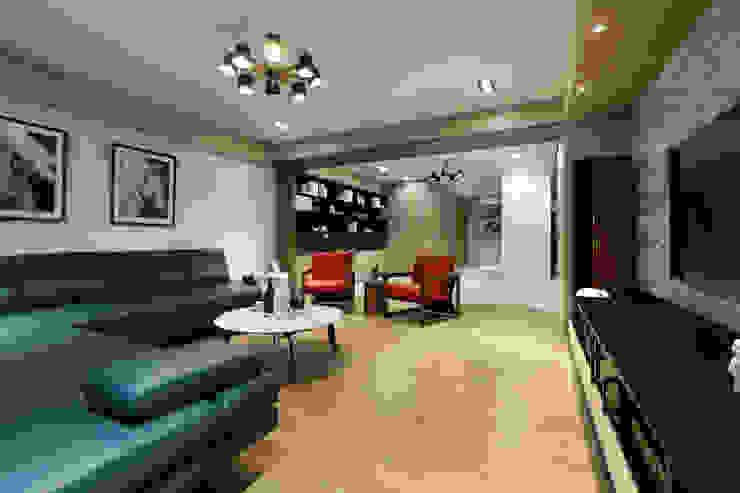人文自然派的no.229舍-場景-客廳 根據 喬克諾空間設計 隨意取材風
