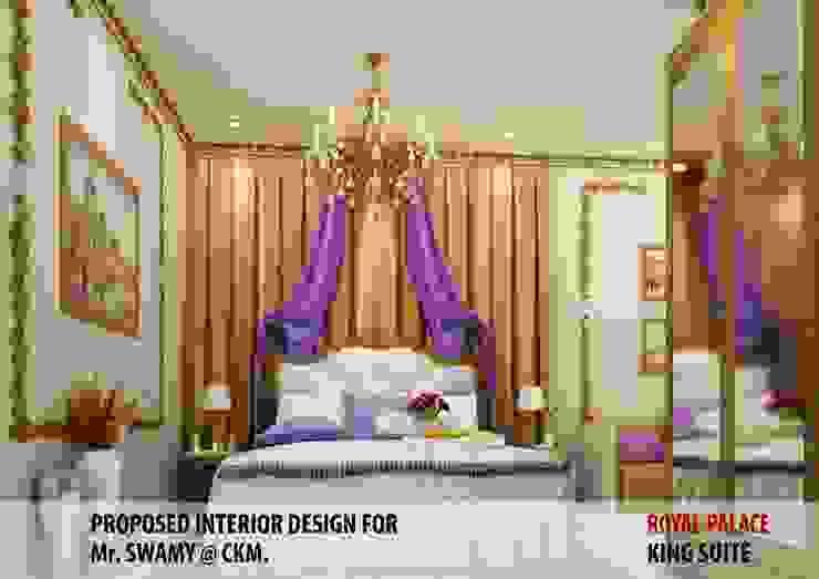 Residential Interiors Modern style bedroom by YUKTAME Modern