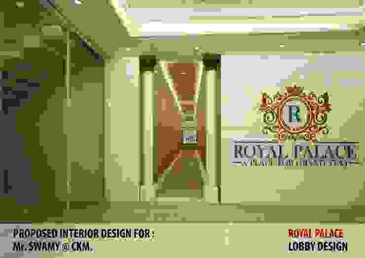 Residential Interiors Modern corridor, hallway & stairs by YUKTAME Modern