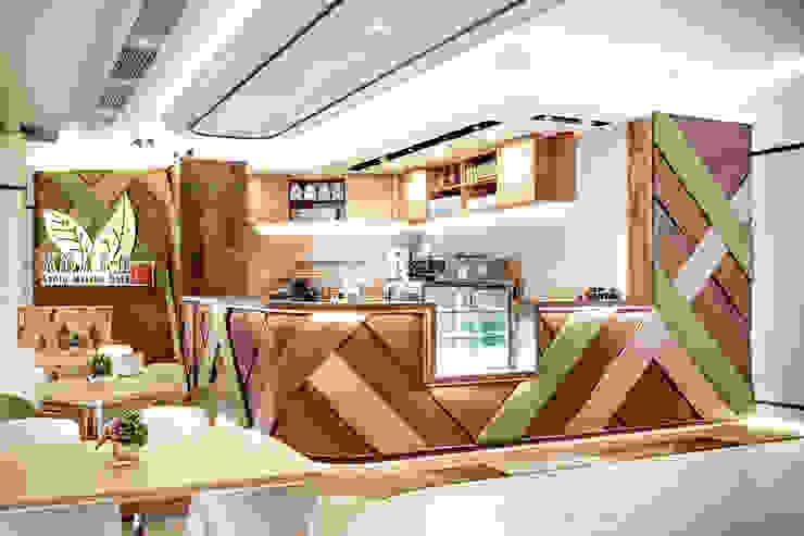 Kyoto Matcha Cafe by Artta Concept Studio Modern