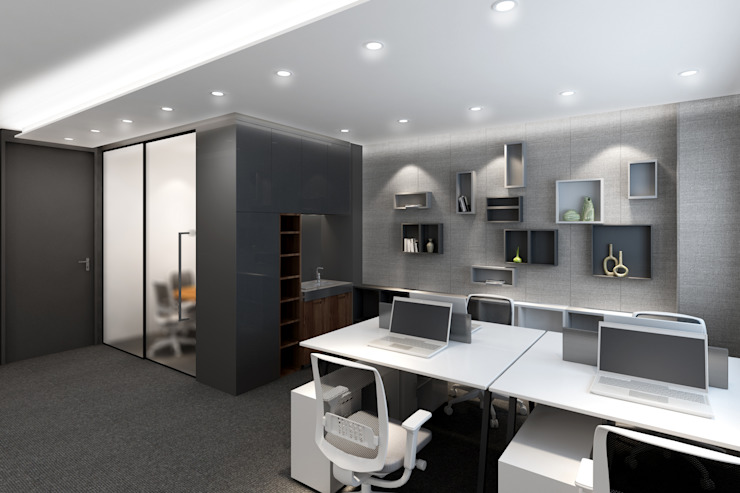 Kelly Commercial Centre Artta Concept Studio Modern office buildings