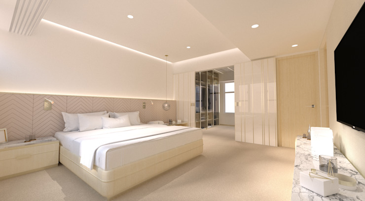 Regal Court Modern style bedroom by Artta Concept Studio Modern