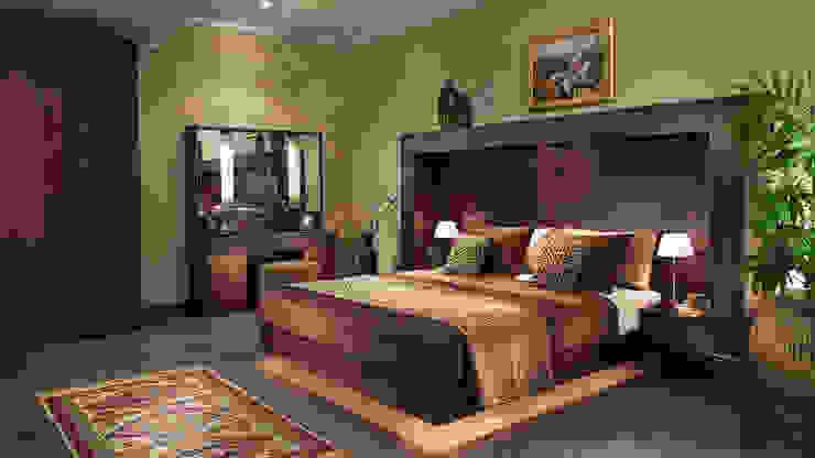 غرفة نوم شهرزاد: حديث  تنفيذ Pinocchio, حداثي خشب Wood effect