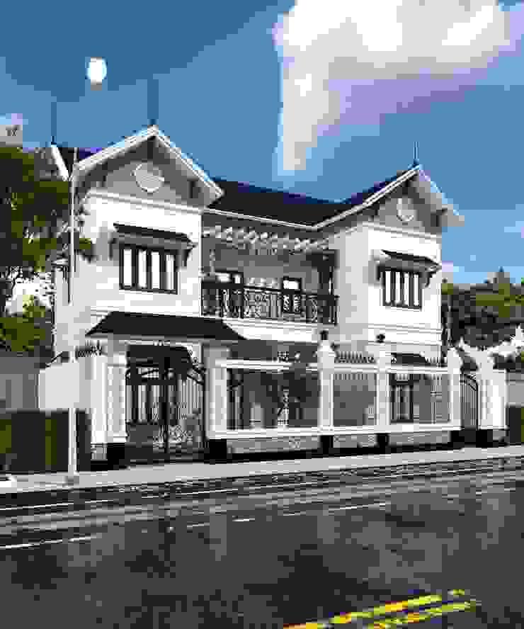 Modern Houses by Công ty Kiến trúc Á Âu Modern