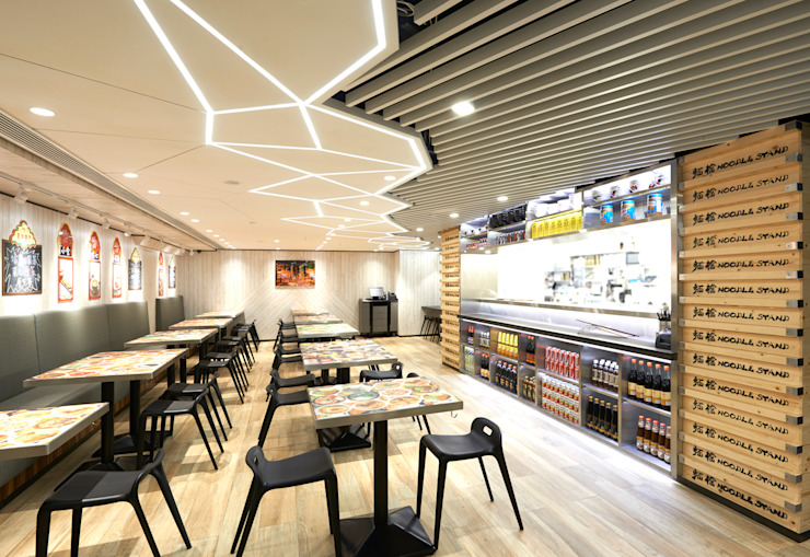 Noodle Stand Modern bars & clubs by Artta Concept Studio Modern