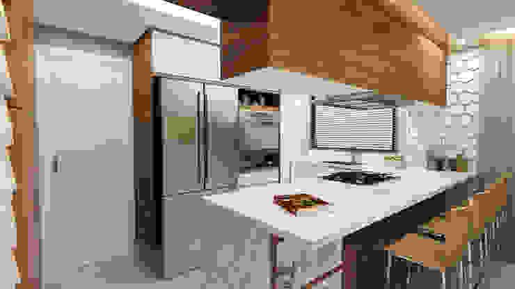 Cozinha Planejada por homify Moderno
