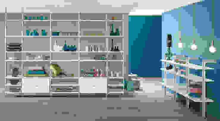 CLOS-IT—Dressing Room Shelving System Salas de estilo moderno de Regalraum UK Moderno