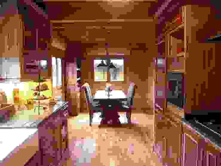 RUSTICASA Muebles de cocinas Madera maciza Acabado en madera