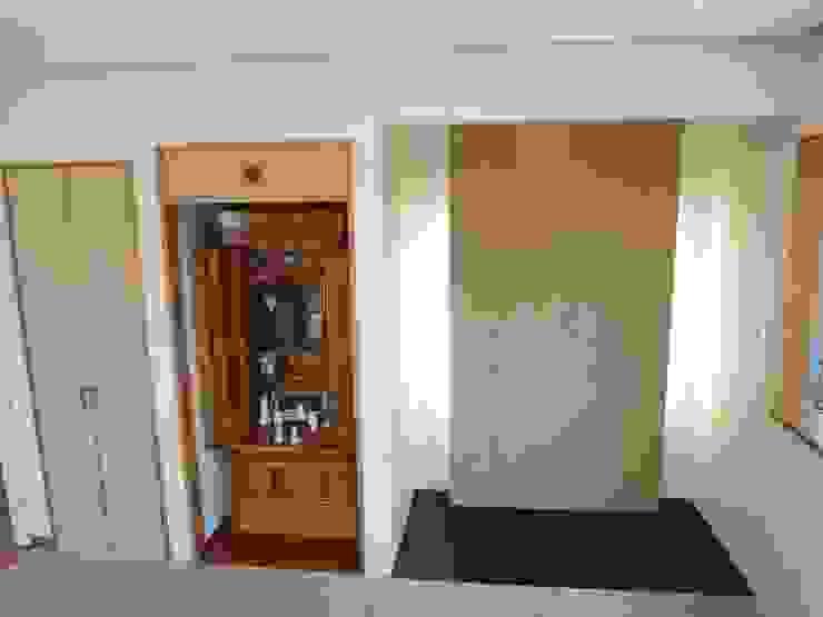 マルモコハウス Ruang Keluarga Modern