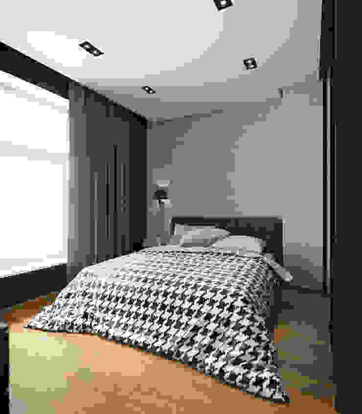 House in Zagorsk, Russia Dormitorios modernos de EVGENY BELYAEV DESIGN Moderno