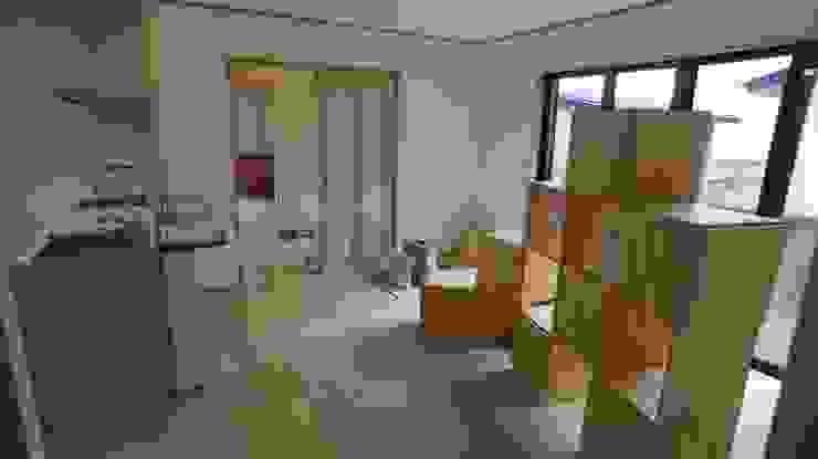 マルモコハウス Modern living room